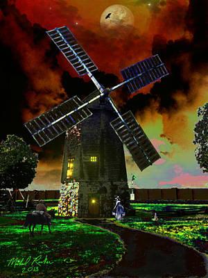 Cape Cod Windmill Print by Michael Rucker