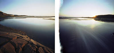 Photograph - Cape Cod Inlet Pinhole by John and Lisa Strazza