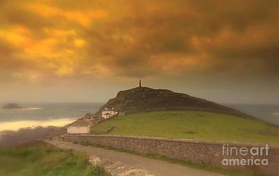 Cape Cornwall  England Print by Linsey Williams