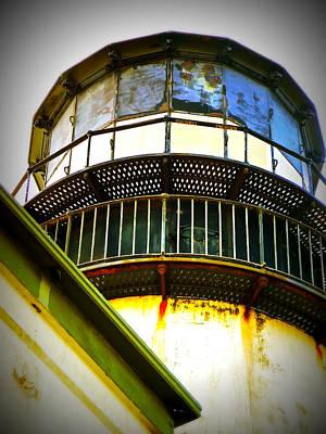 Cape D Lantern Tower Vertical Print by Pamela Patch