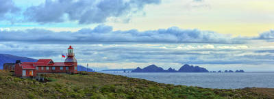 Drake Photograph - Cape Horn Lighthouse In Cape Horn by Panoramic Images