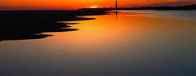 Nj Mixed Media - Cape May Lighthouse Nj by Kenny  Noddin
