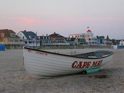 Cape May Remembered Print by Gordon Beck