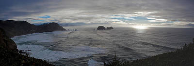 Cape Mears Storms Print by Mike Reid