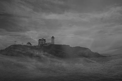 Cape Neddick Lighthouse  Original by Raymond Salani III