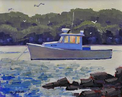 Painting - Cape Porpoise Afternoon by Mary Byrom