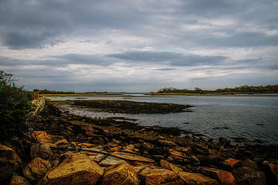 Cape Porpoise Maine - After The Rain Print by Bob Orsillo