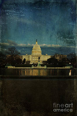 Capitol Blues Print by Terry Rowe