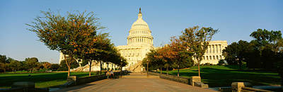 Capitol Building, Washington Dc Print by Panoramic Images