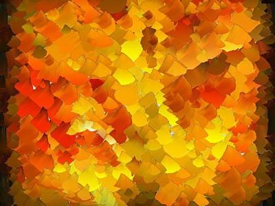 Pallet Knife Digital Art - Capixart Abstract 103 by Chris Axford