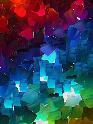 Pallet Knife Digital Art - Capixart Abstract 15 by Chris Axford