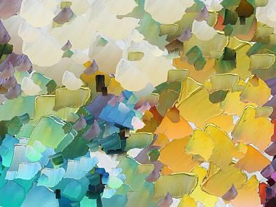 Pallet Knife Digital Art - Capixart Abstract 29 by Chris Axford