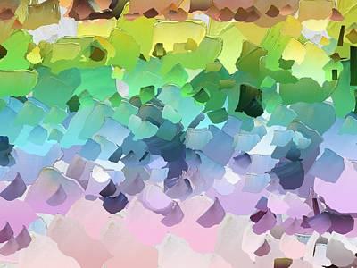Pallet Knife Digital Art - Capixart Abstract 31 by Chris Axford