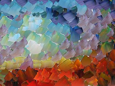 Pallet Knife Digital Art - Capixart Abstract 67 by Chris Axford