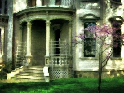Blooming Digital Art - Cappon House by Michelle Calkins