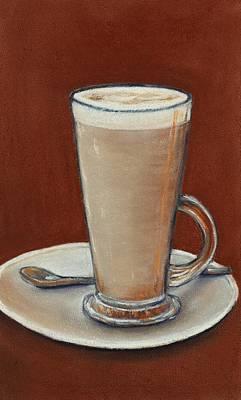 Ceramic Mixed Media - Cappuccino by Anastasiya Malakhova