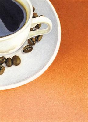 Cappuccino Print by Natasha Denger