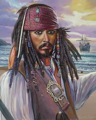 Captain Jack Sparrow Original by Raymond Sipos
