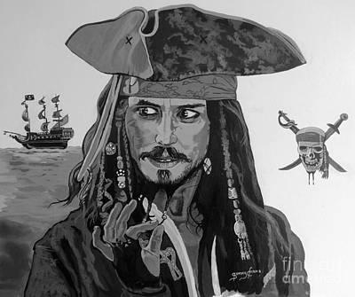 Captain Jack Sparrow Original by Sonny Chana