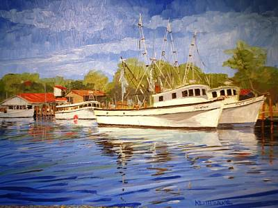 Painting - Captain James by Keith Wilkie