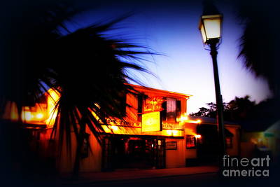 Sign In Florida Photograph - Captain Tony's Bar In Key West Florida by Susanne Van Hulst