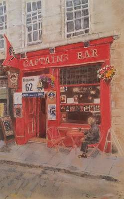 Captains Bar Print by Audrey Kennedy