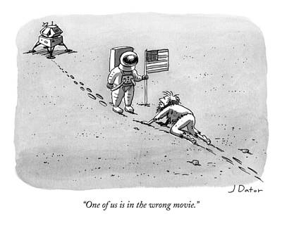 Astronauts Drawing - Caption Contest 211 - Winner by Joe Dator