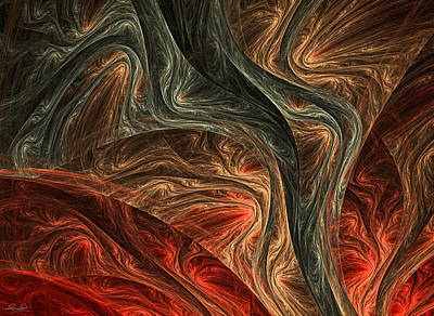 Colorful Abstract Fractal Art Digital Art - Captivate by Lourry Legarde