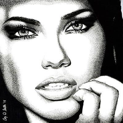 Captivating Eyes Print by Cory Still