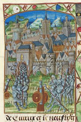 Ou Photograph - Capture Of Evreux by British Library