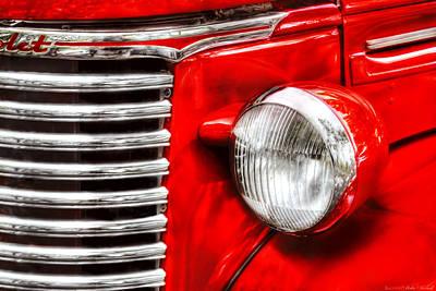Car - Chevrolet Print by Mike Savad