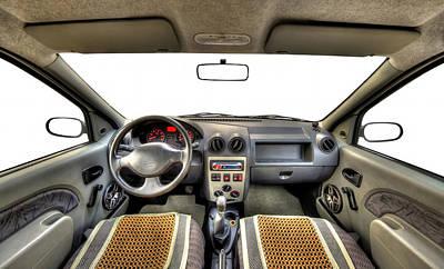 Car Interior Original by Ioan Panaite