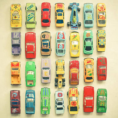 Toy Photograph - Car Park by Cassia Beck