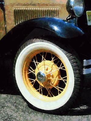 Savad Photograph - Car Wheel Closeup by Susan Savad