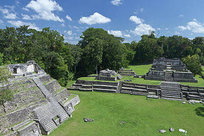 Belize Photograph - Caracol Ancient Mayan Site, Belize by William Sutton