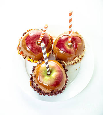 Food Stores Photograph - Caramel Apples by Edward Fielding