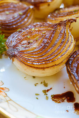 Caramelized Balsamic Onions Print by Edward Fielding