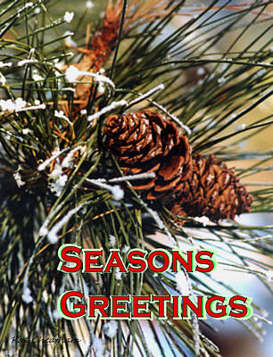 Card For The Winter Print by Kae Cheatham