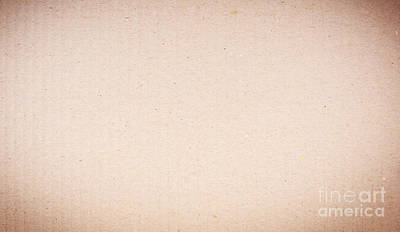 Paper Photograph - Cardboard Background by Tim Hester