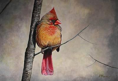 Painting - Cardinal by Pam Kaur