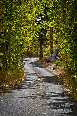 Carefree Highway Print by Mitch Shindelbower