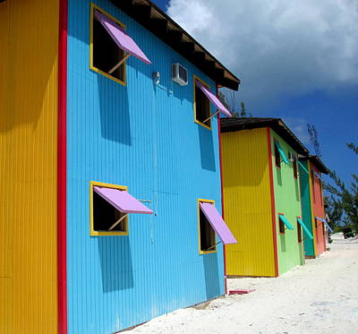Caribbean Color Print by Randall Weidner
