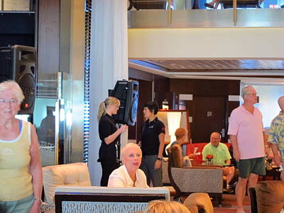 Caribbean Cruise - On Board Ship - 1212115 Print by DC Photographer