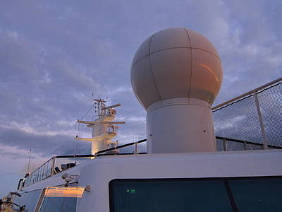 Caribbean Cruise - On Board Ship - 1212206 Print by DC Photographer