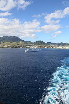 Caribbean Cruise - St Kitts - 1212115 Print by DC Photographer