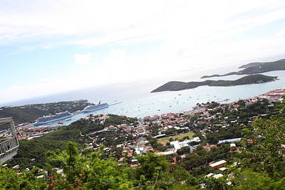 Caribbean Cruise - St Thomas - 1212248 Print by DC Photographer