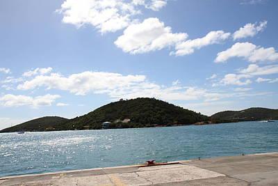 Caribbean Cruise - St Thomas - 121256 Print by DC Photographer