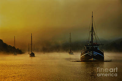 Nigel Hamer Photograph - Carina In The Mist by English Landscapes