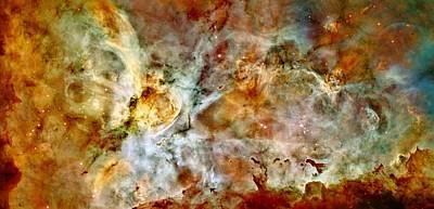 Aliens Photograph - Carina Nebula Panorama by Benjamin Yeager