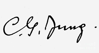 Carl Gustav Jung Print by Granger